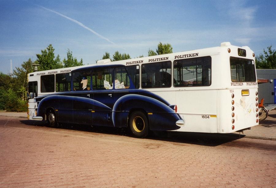 Bus Danmark 1604/JJ94032 på Nøragersmindevej på Amager i 1996