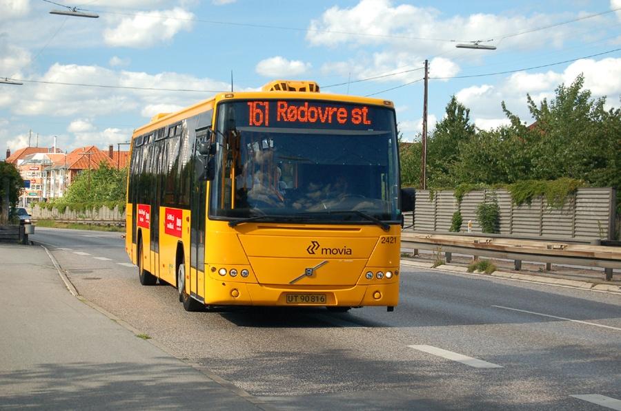 City-Trafik 2421/UT90816 på Ringvejsbroen i Herlev den 22. juni 2008