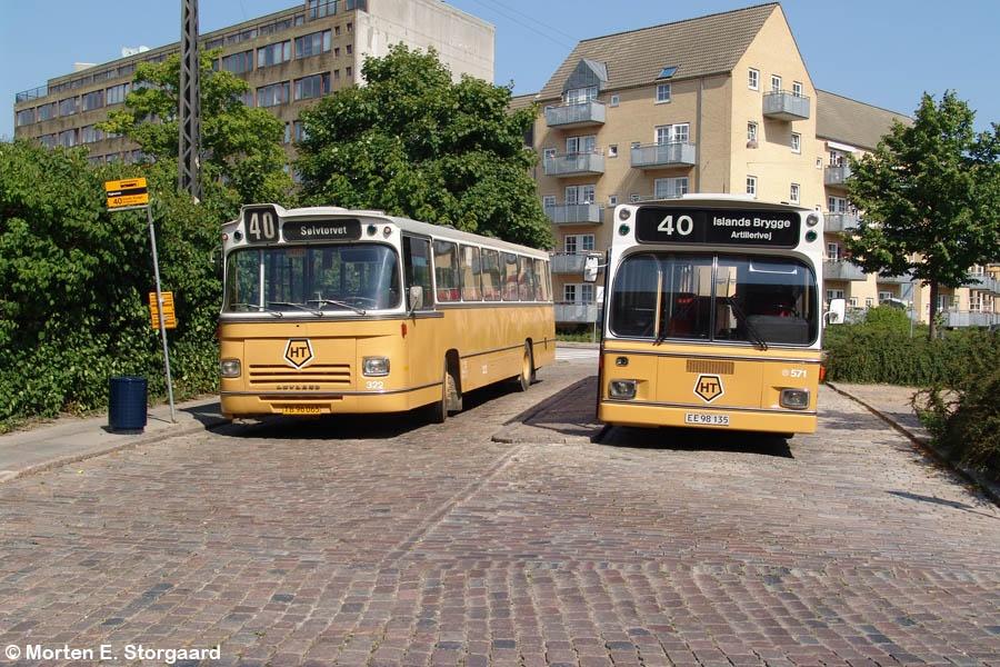 KS 322/TB96095 og KS 571/EE98135 på Kigkurren, Islands Brygge i København den 20. august 2005
