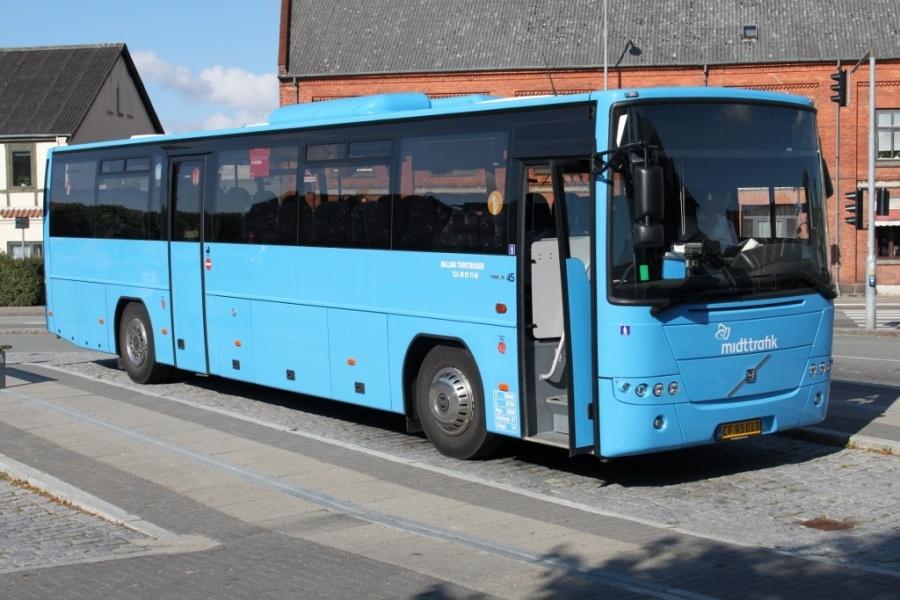 Malling Turistbusser 45/CF93013 i Odder den 14. august 2012