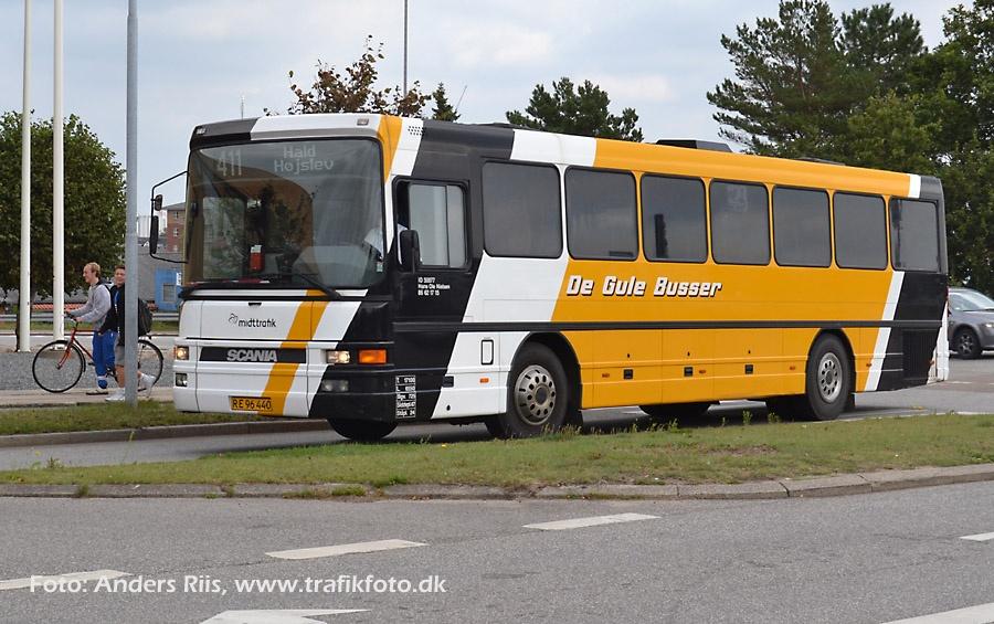 De Gule Busser RE96440 i Skive den 10. september 2012