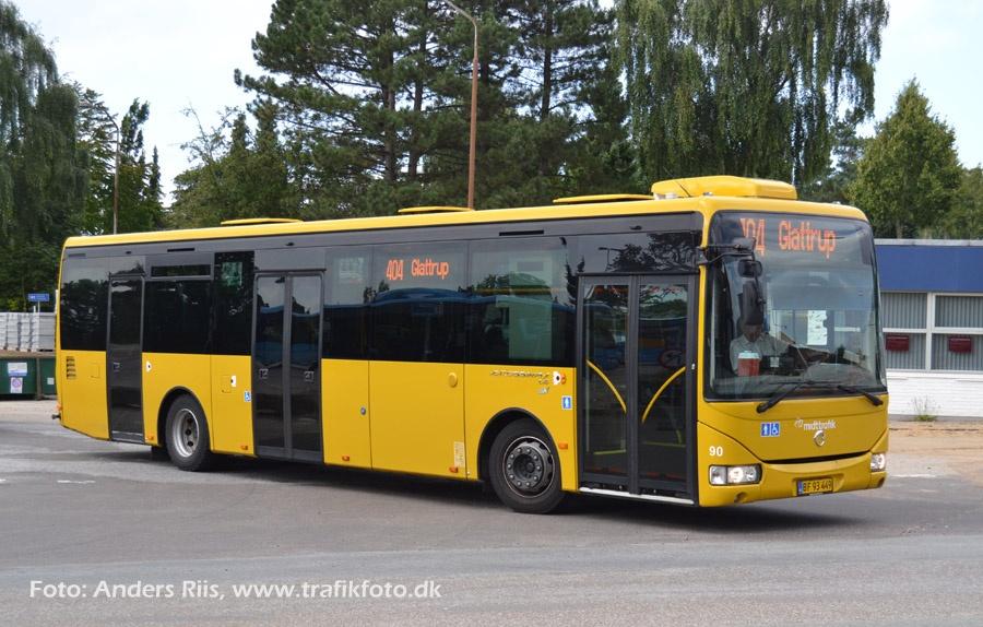 De Blaa Busser 90/BF93449 i Skive den 10. september 2012