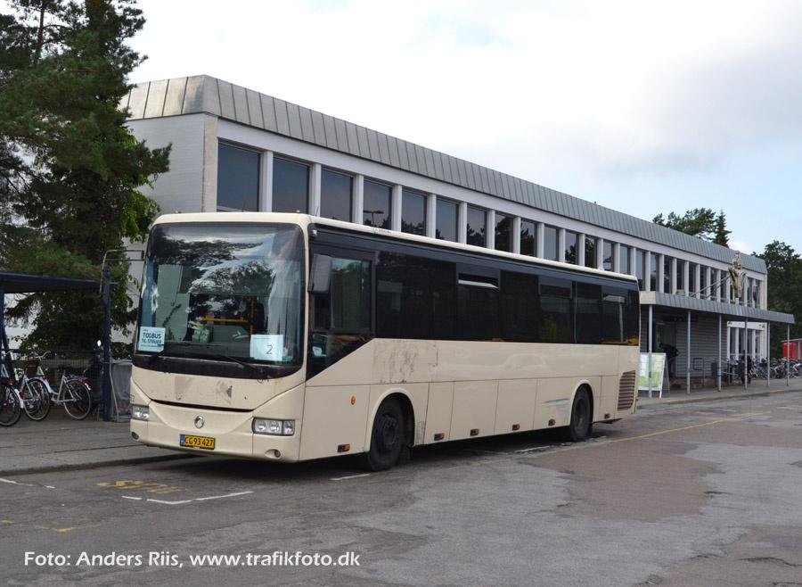 Arriva 2922/CG93427 i Skive den 10. september 2012