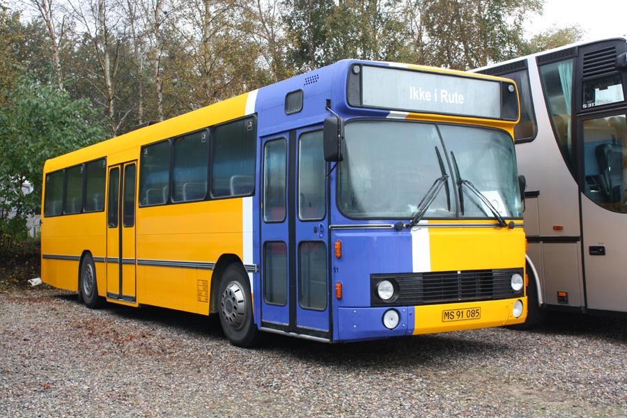 Faarup Rute- og Turistbusser 51/MS91085 i Faarup den 6. oktober 2012