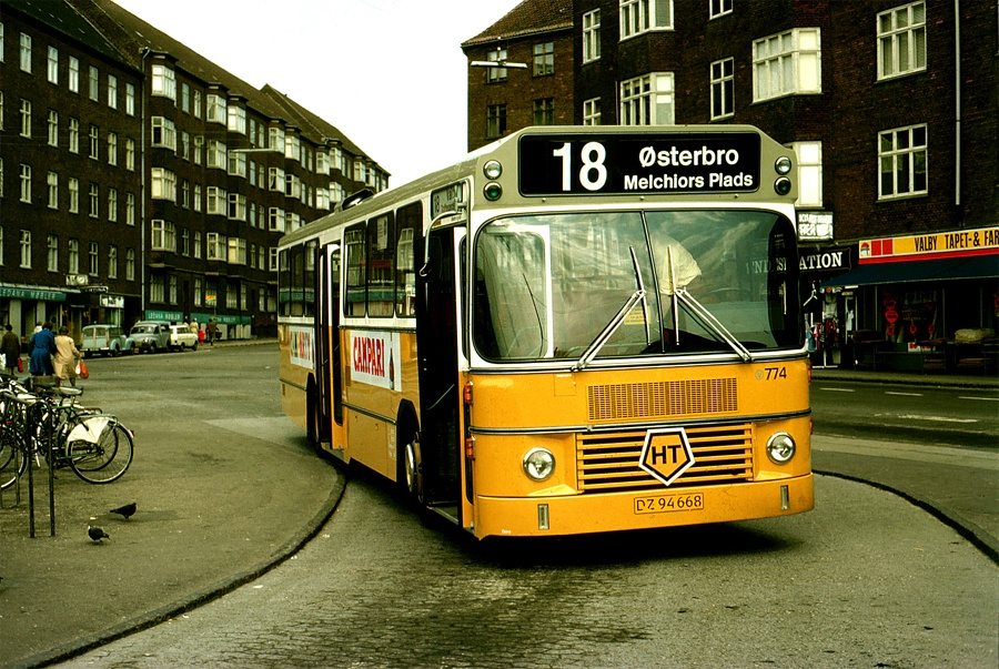 HT 774/DZ94668 på Toftegårds Plads i Valby