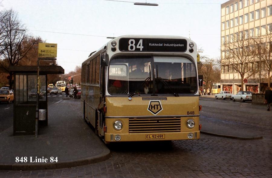 HT 848/EL92491 ved Nørreport st. i København