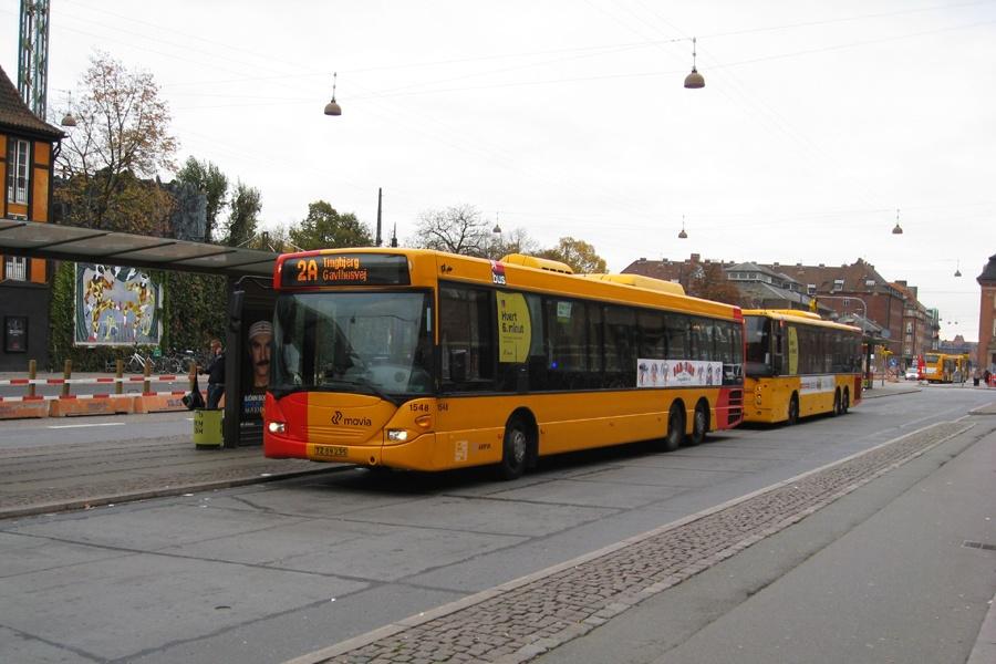 Arriva 1548/TZ89235 ved Hovedbanegården i København den 24. oktober 2012