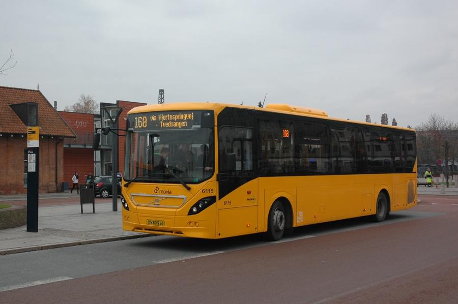 Nobina 6115/XS89914 ved Herlev st. den 16. november 2012
