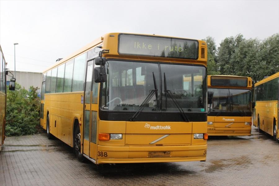 Århus Sporveje 388 ved Bus Center Vest i Kolding den 21. september 2012