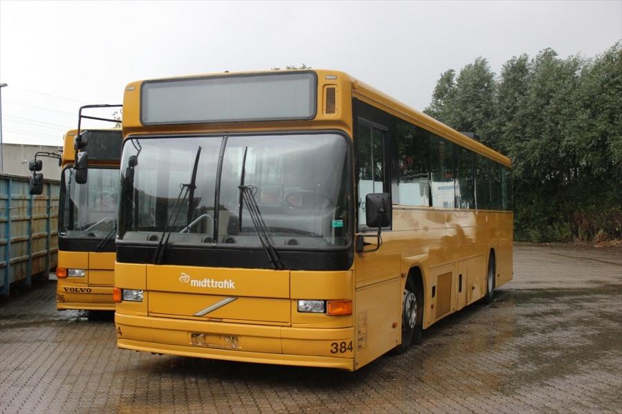 Århus Sporveje 384 ved Bus Center Vest i Kolding den 21. september 2012
