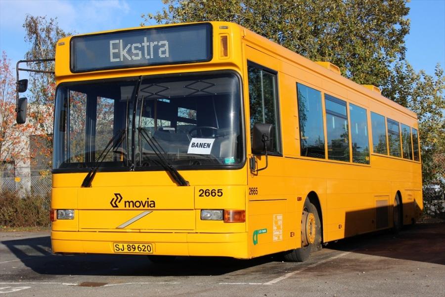 City-Trafik 2665/SJ89620 i garagen i Fredericia den 13. oktober 2012