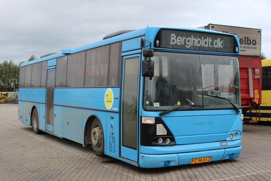 Bergholdt PZ96612 ved Bus Center Vest i Kolding den 14. oktober 2012