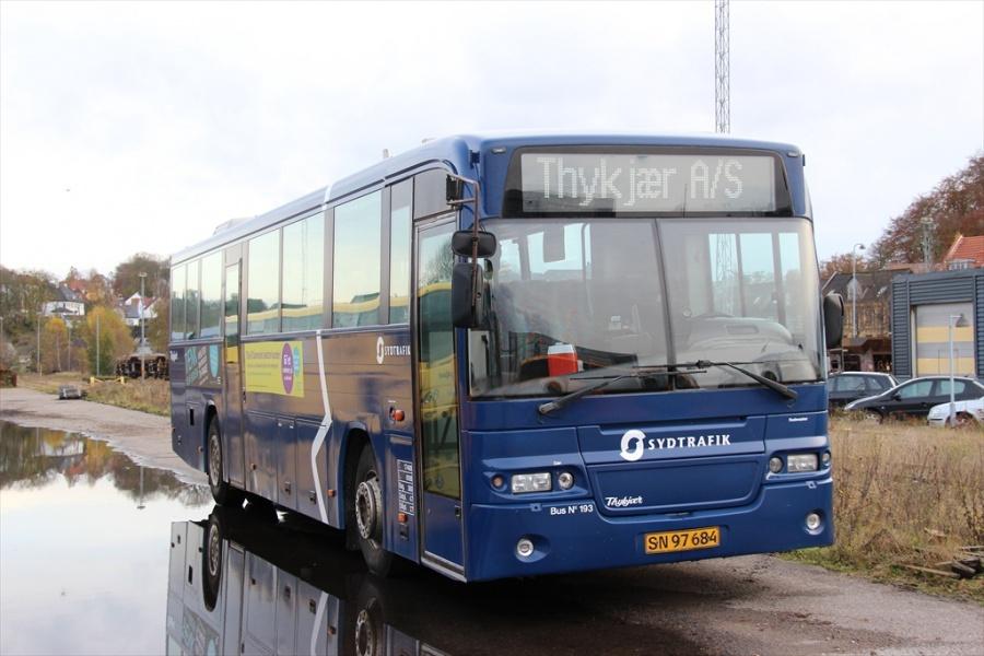 Bent Thykjær 193/SN97684 i garagen i Vejle den 4. november 2012