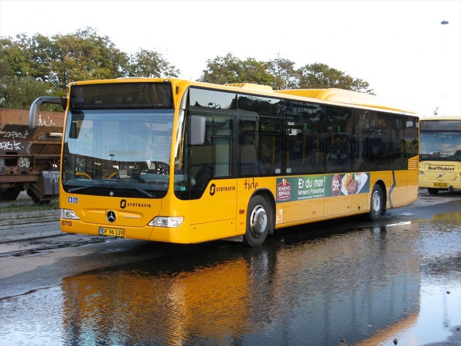 Tide Bus 8713/DF96139 i Bent Thykjærs garage i Vejle den 9. oktober 2012