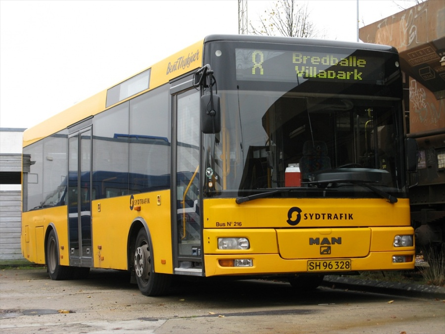 Bent Thykjær 216/SH96328 i garagen i Vejle den 20. oktober 2012