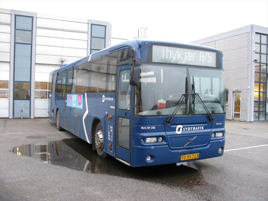 Bent Thykjær 292/TD95723 i garagen i Vejle den 10. november 2012