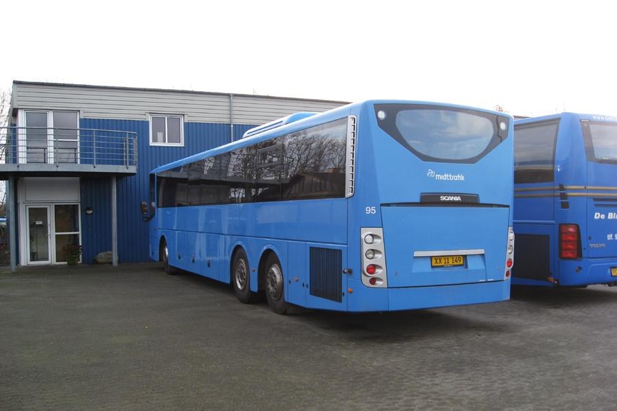 De Blaa Busser 95/XX11149 i Skive den 18. november 2012
