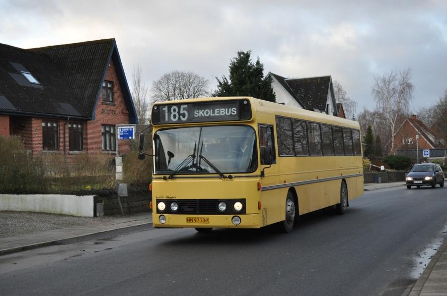 Bent Thykjær 111/NN97737 på Vestergade i Ejstrupholm den 3. januar 2013