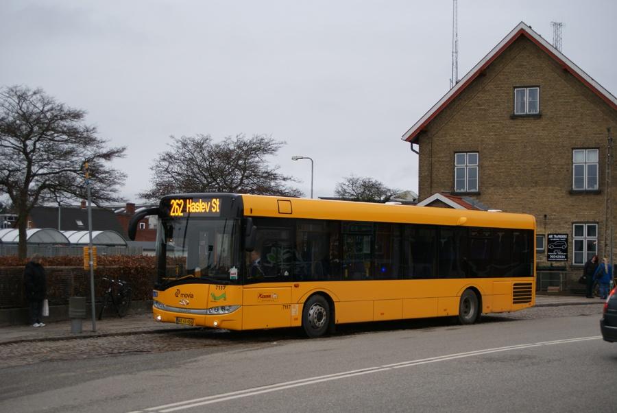 Kruse 7117/AB43456 ved Haslev st. den 7. januar 2013