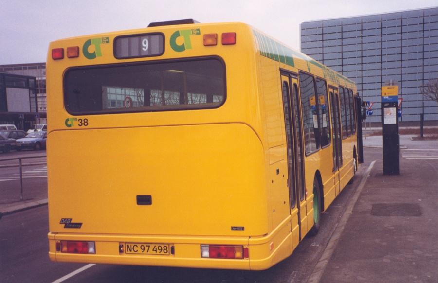 City-Trafik 38/NC97498 i Kastrup Lufthavn