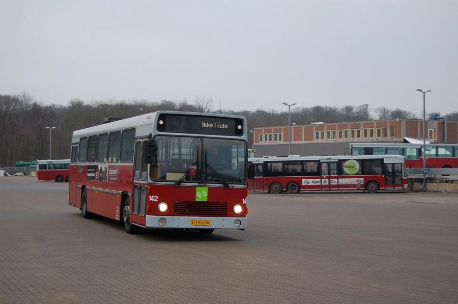 Odense Bybusser 142/LH90600 i Odense den 7. januar 2008
