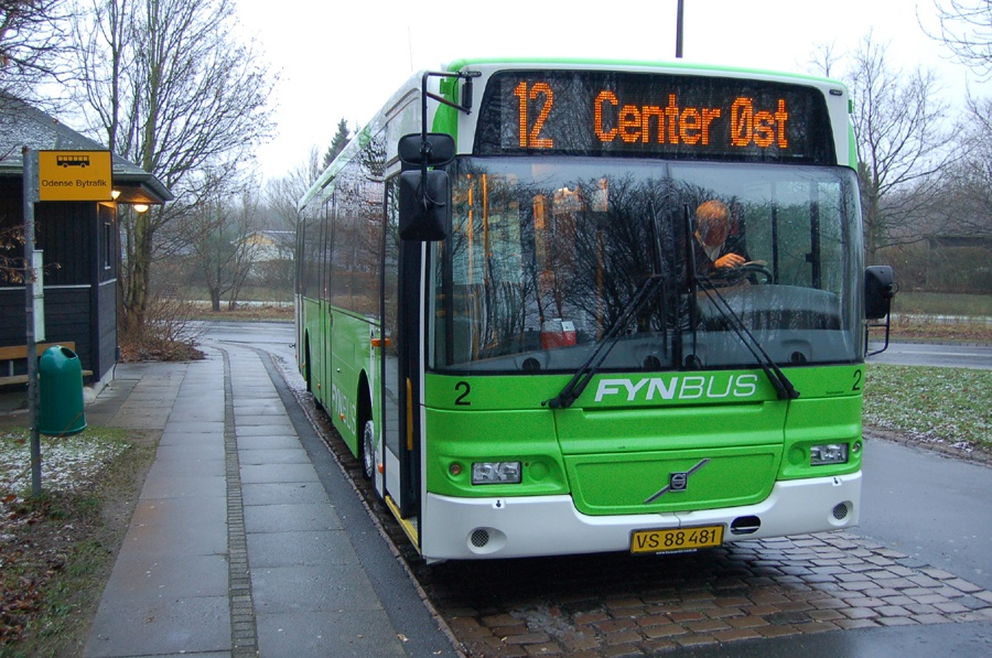 Odense  Bybusser 2/VS88481 i Odense den 7. januar 2008