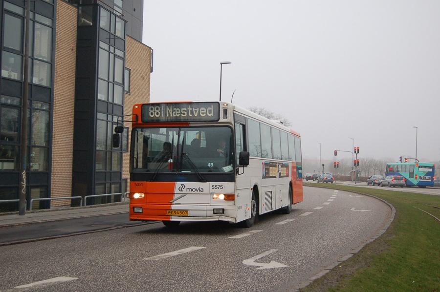 Arriva 5575/PE94507 i Næstved den 8. februar 2008