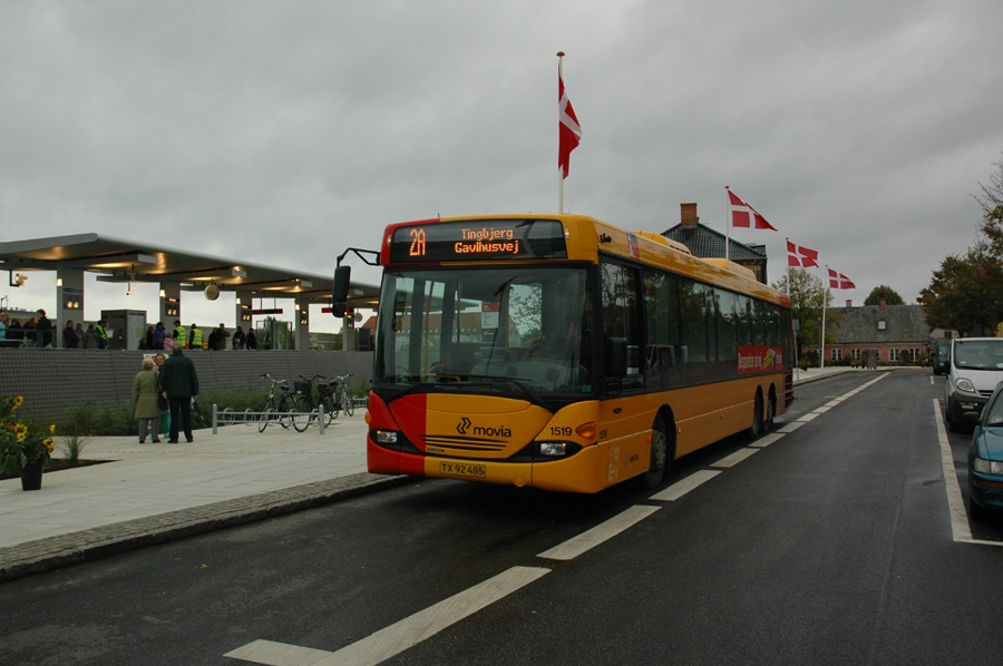 Arriva 1519/TX92485 ved Kastrup st. den 28. september 2007