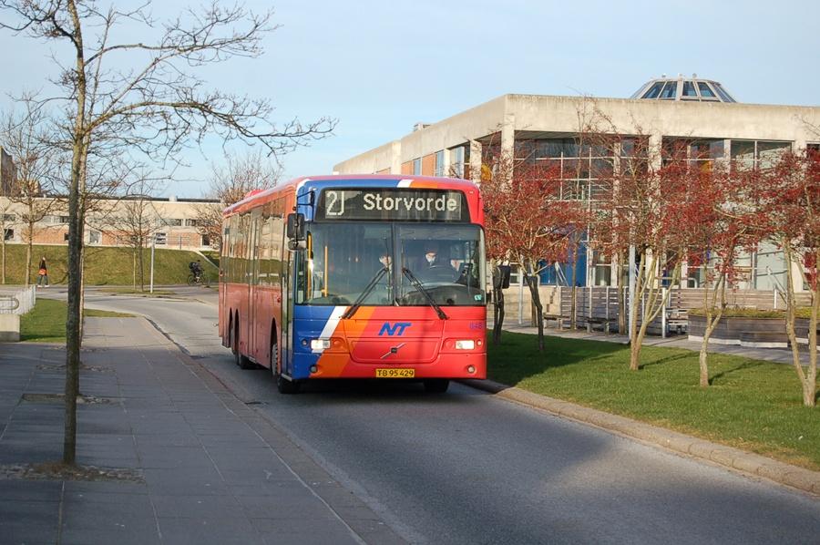 Arriva 8484/TB95429 ved Universitetet i Aalborg den 6. marts 2008