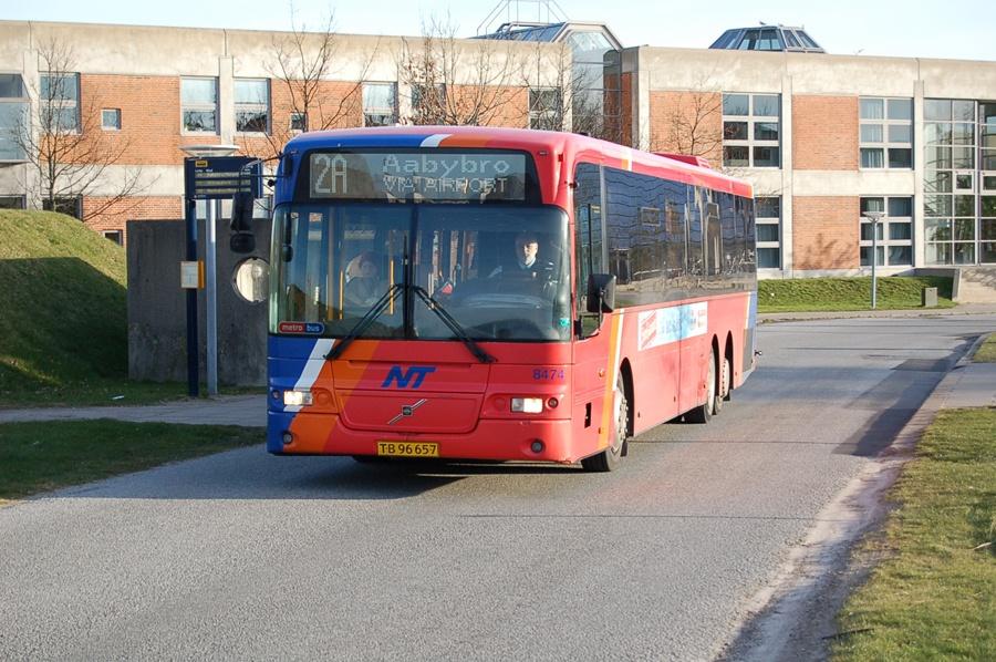 Arriva 8474/TB96657 ved Universitetet i Aalborg den 6. marts 2008