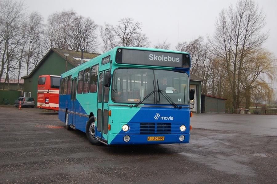 Skørringe Turistbusser 14/SL89995 i Skørringe den 15. marts 2008