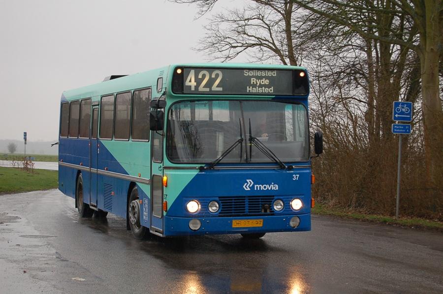 Funchs Turisttrafik 37/OB93697 i Søllested den 15. marts 2008