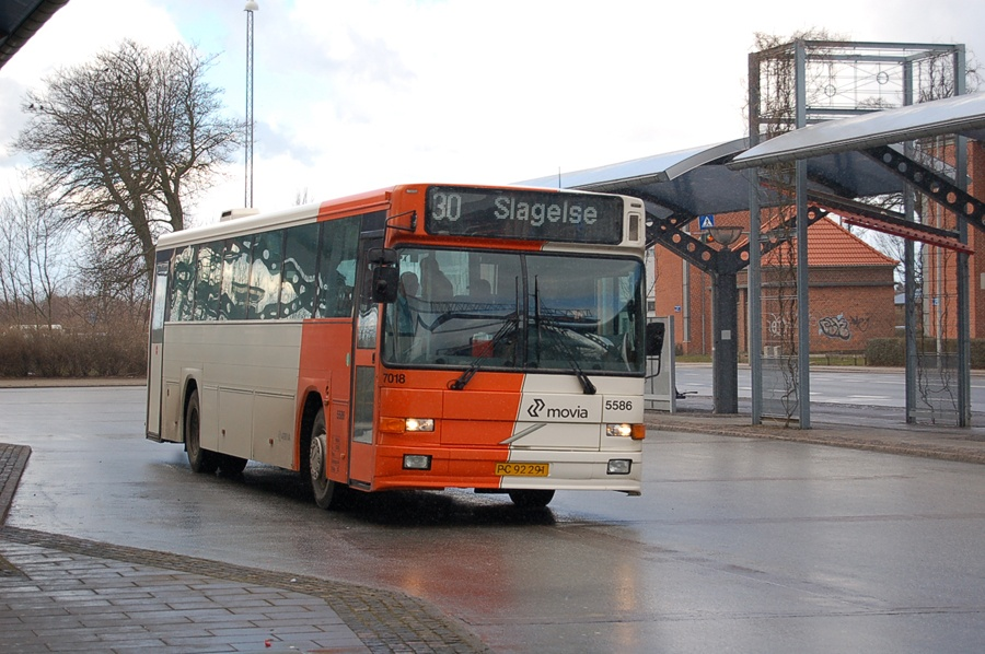 Arriva 5586/PC92291 i Slagelse den 27. marts 2008