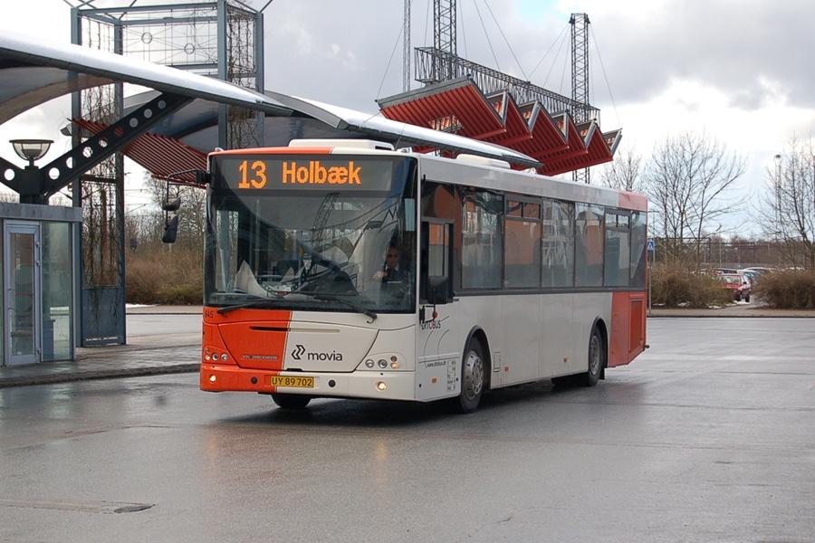 Ditobus 645/UY89702 i Slagelse den 27. marts 2008