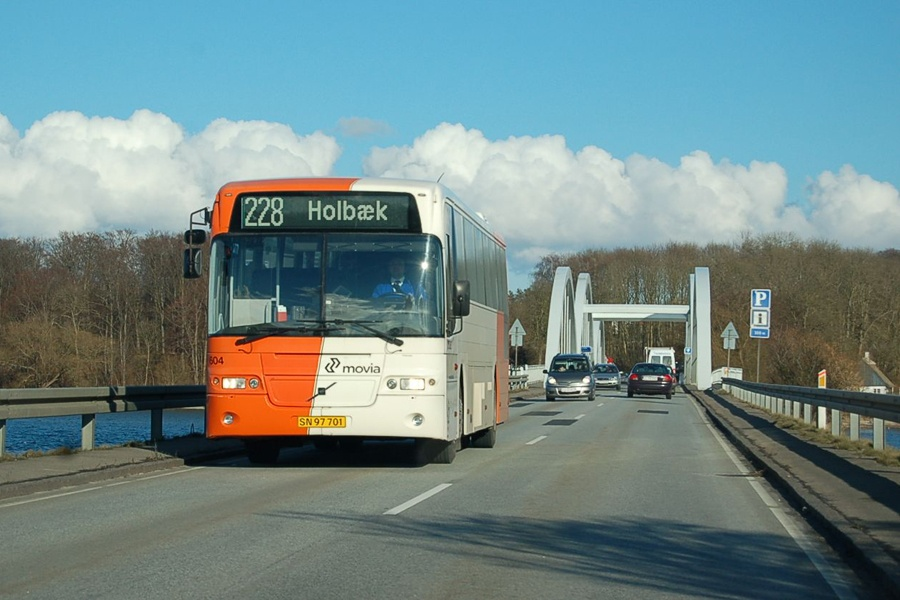 Ditobus 604/SN97701 på Munkholmbroen den 27. marts 2008