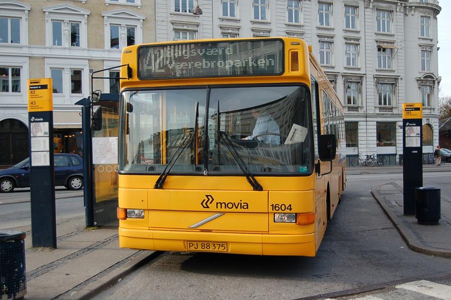 Arriva 1604/PJ88375 ved Nørreport st. i København den 8. april 2008