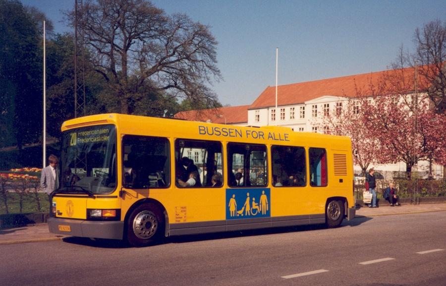 Fredericia Omnibusser MB92536 i Fredericia