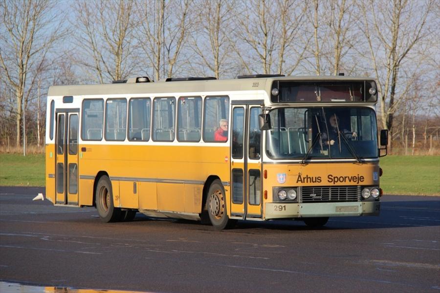 Ex. Århus Sporveje 291 på KTA Horsens den 22. november 2012