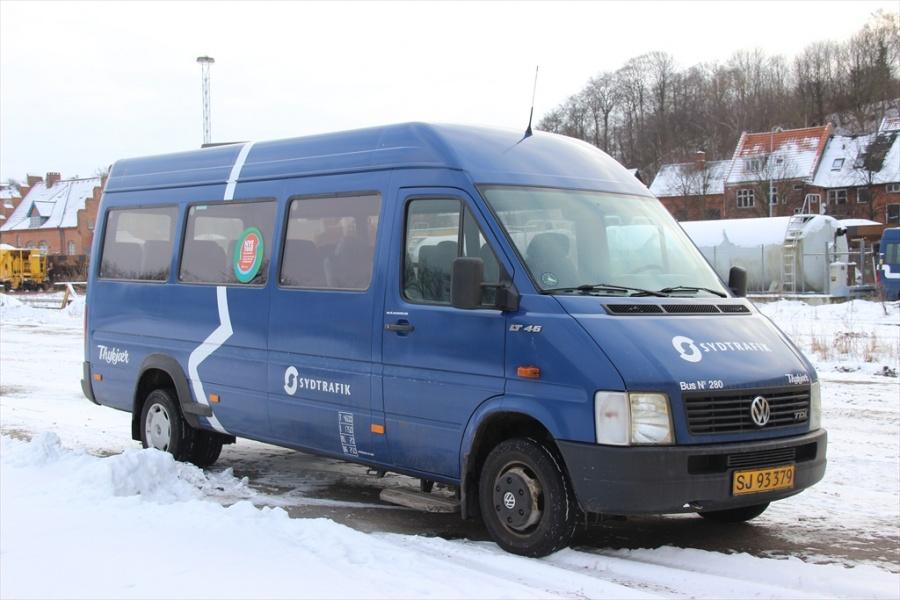Bent Thykjær 280/SJ93379 på Gammelhavn i Vejle 19. januar 2013