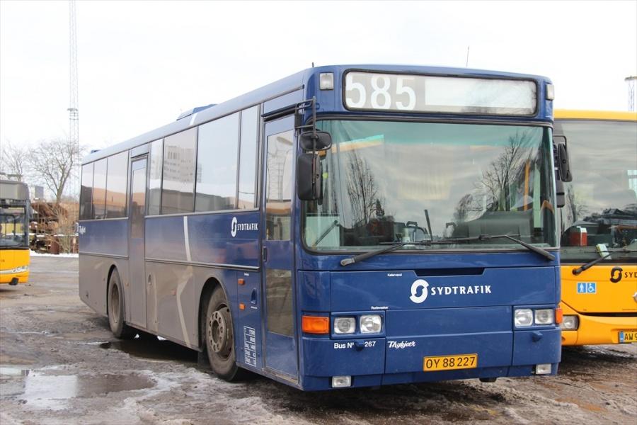 Bent Thykjær 267/OY88227 på Gammelhavn i Vejle den 19. januar 2013