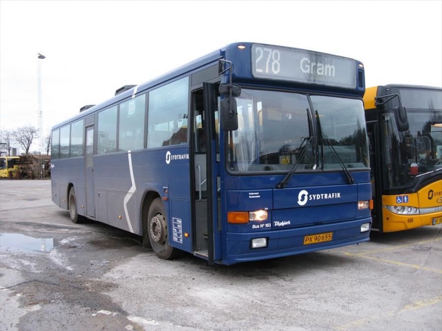 Bent Thykjær 163/PX90655 på Gammelhavn i Vejle den 12. januar 2013