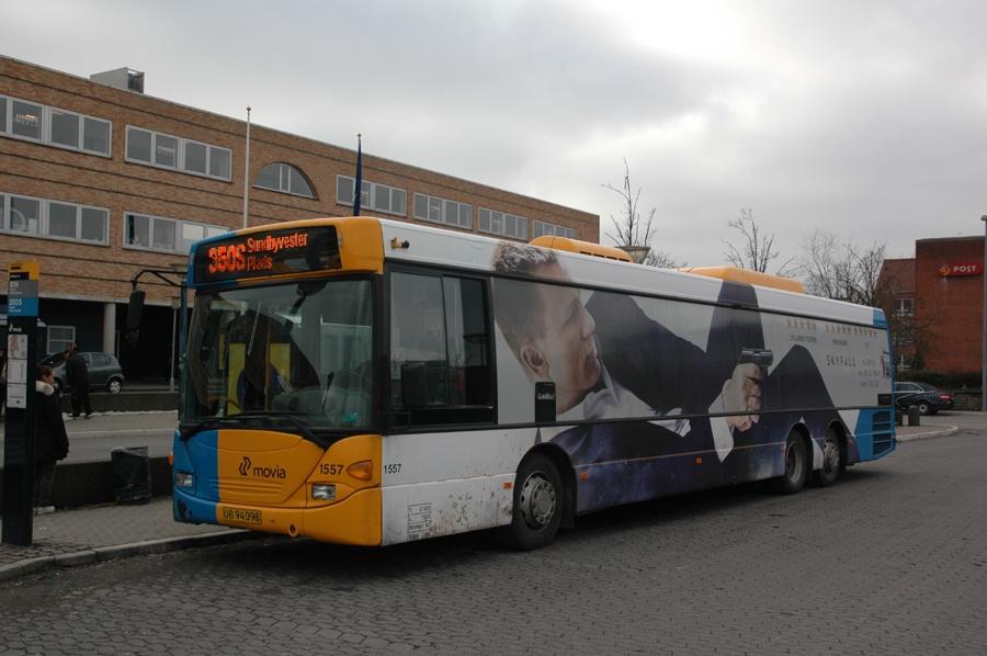 Arriva 1557/UB94098 ved Ballerup st. den 26. februar 2013