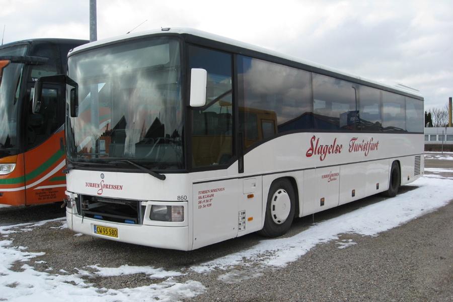 Egons Turist- og Minibusser 167/CW95580 i Slagelse den 25. marts 2013