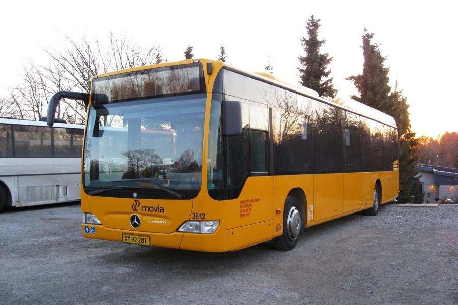 Egons Turist- og Minibusser 3812/XM92281 i Skælskør den 25. marts 2013