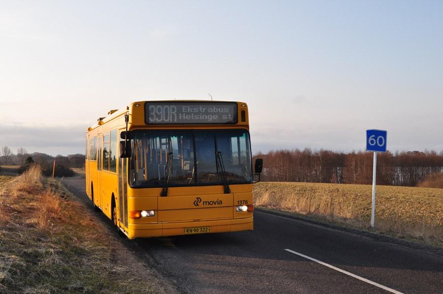 Arriva 1376/RN90322 nær Harreshøj den 10. april 2013