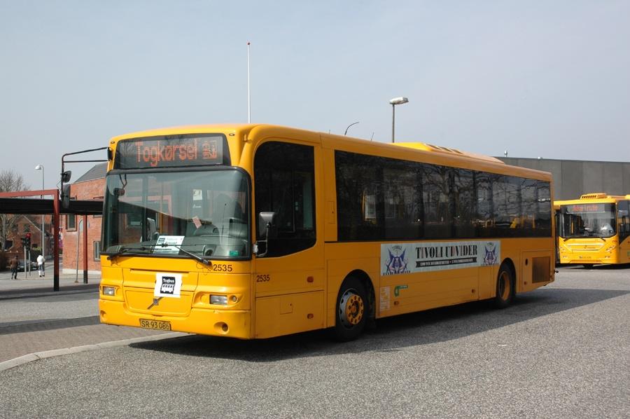 City-Trafik 2535/SR93086 ved Hillerød st. den 14. april 2013
