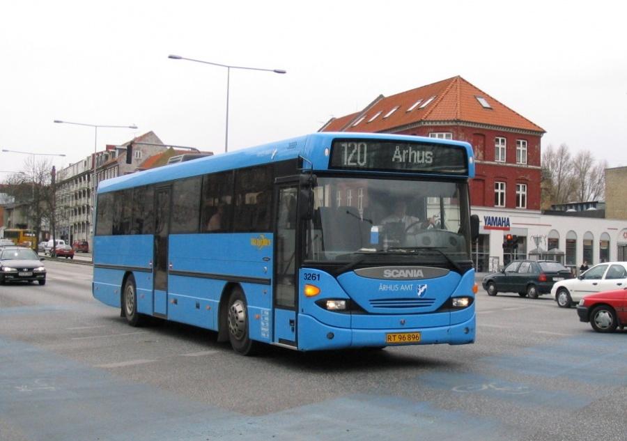 Wulff Bus 3261/RT96896 i Nørreport i Århus den 23. marts 2006