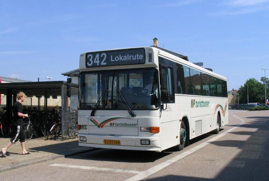 NF Turistbusser 62/TJ97569 på Struer St. den 13. juni 2006