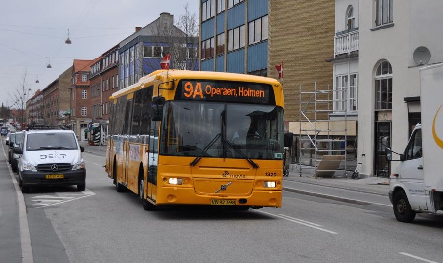 Arriva 1329/VN92398 på Jernbane Allé i Vanløse den 29. april 2013