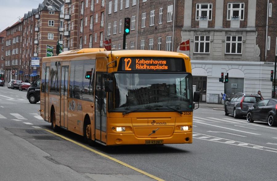 City-Trafik 2536/SR93087 på Borups Allé i København den 29. april 2013
